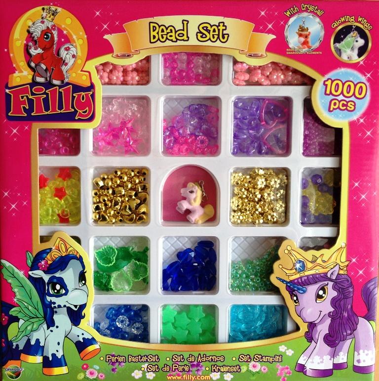 filly fairy basterperlen bead set 1000 perlen kette draco ut20484 filly world ebay. Black Bedroom Furniture Sets. Home Design Ideas