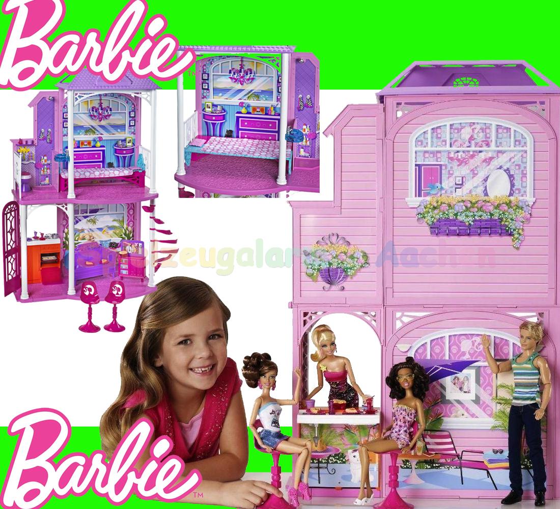 barbie strandhaus haus w3155 beach house nuova casa. Black Bedroom Furniture Sets. Home Design Ideas