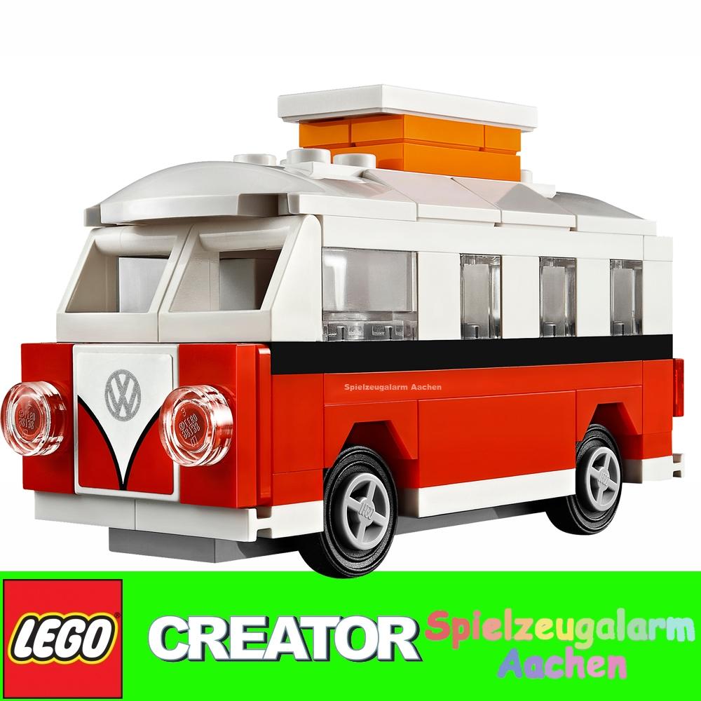 lego 40079 mini volkswagen bulli campingbus vw t1 camper van 10220 mini edit ebay. Black Bedroom Furniture Sets. Home Design Ideas
