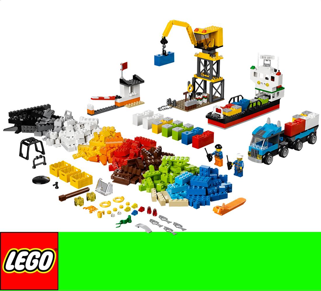 lego 10663 steine co starterbox hafen 609pcs kreative box zu 5508 5512 10664 ebay. Black Bedroom Furniture Sets. Home Design Ideas