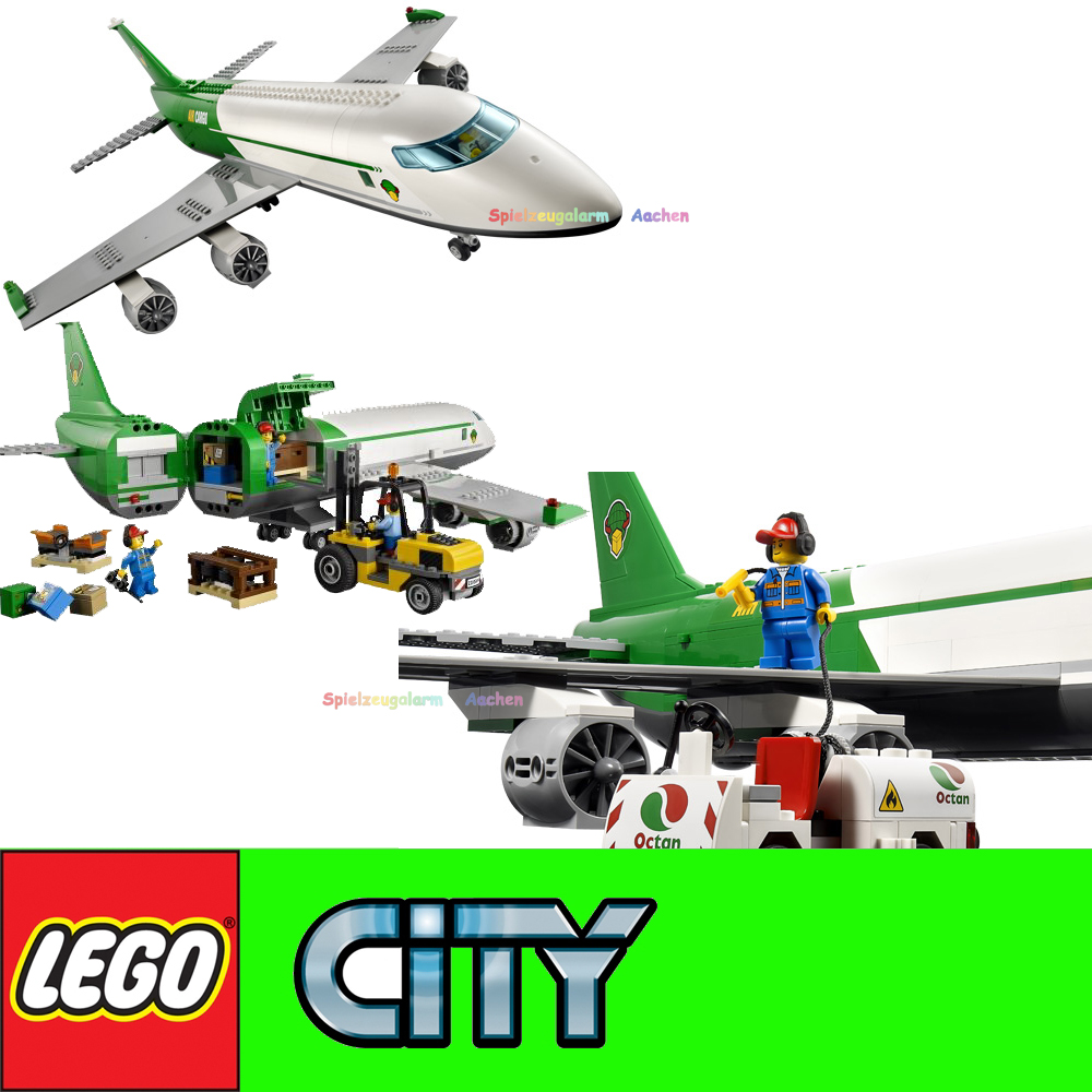 LEGO CITY 60022 Cargo Terminal Set Large Aircraft Le ...