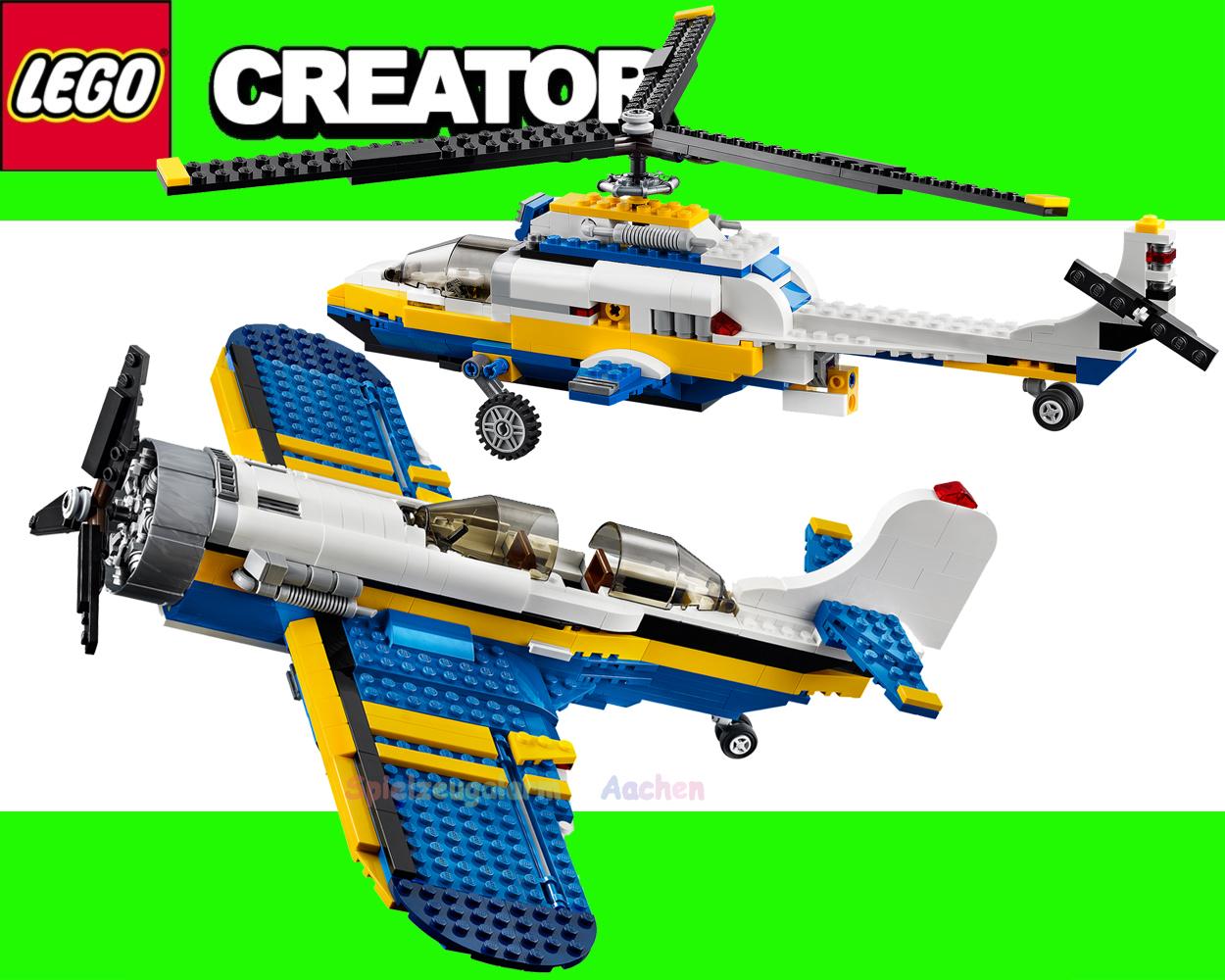Lego creator 31011 propeller plane aviation adventures l - Avion de chasse en lego ...