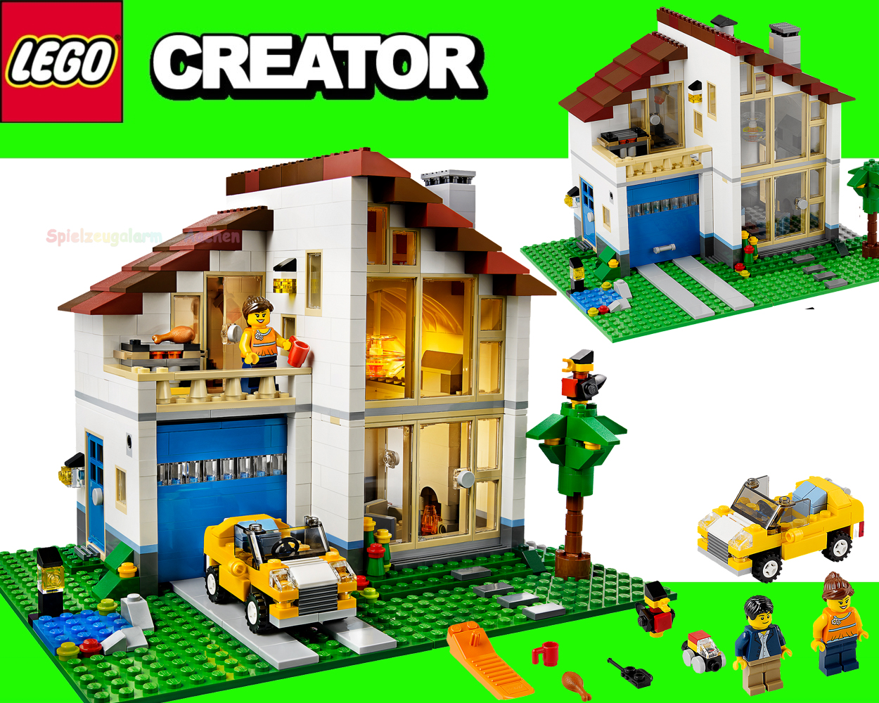 Lego creator family house 31012 ebay for Table maison de famille