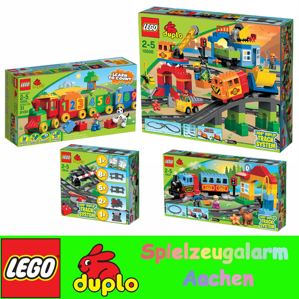 duplo number train 10558 instructions