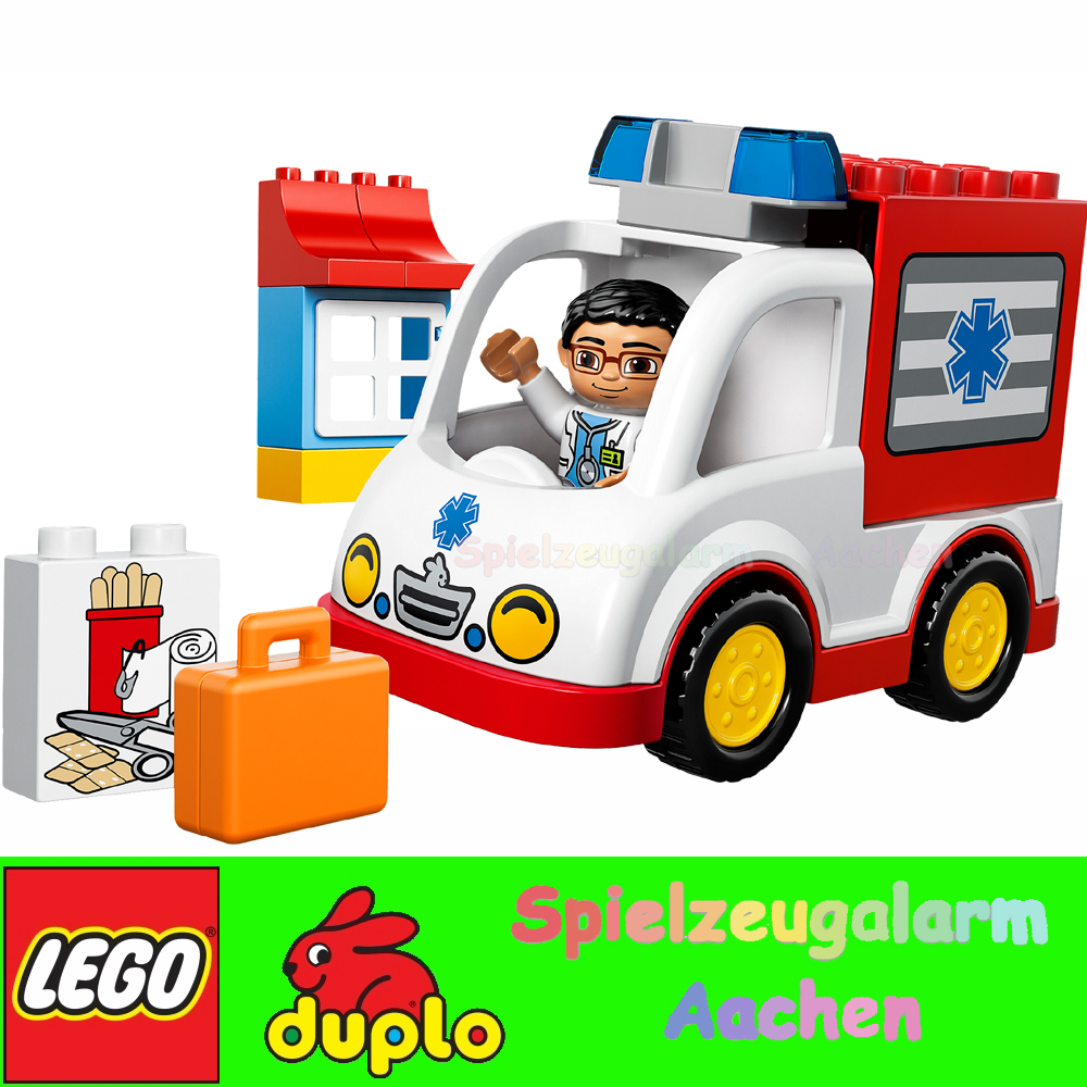 lego 10527 duplo krankenwagen arztfigur mit arztkoffer. Black Bedroom Furniture Sets. Home Design Ideas