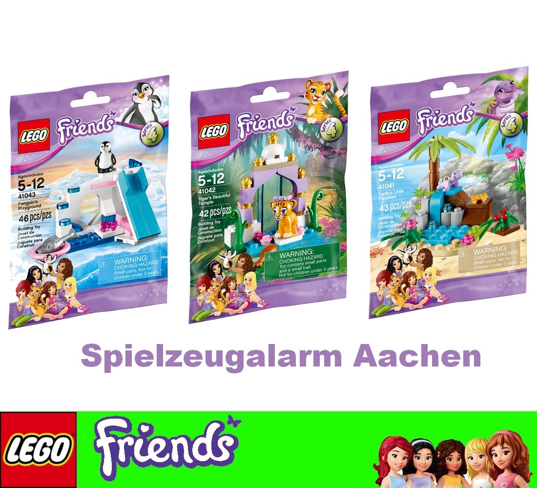 Lego Friends 41041 41042 41043 Bouclier Paradis Tigre Temple Pinguinspielplat Ebay