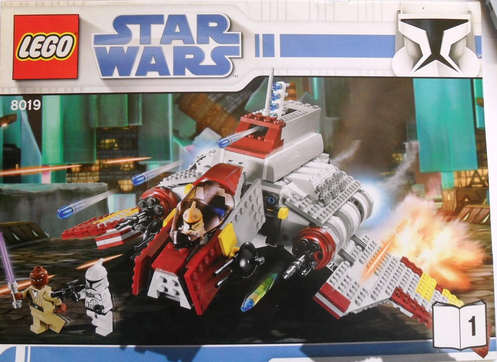 lego 8019 star wars republic attack shuttle xl pics. Black Bedroom Furniture Sets. Home Design Ideas