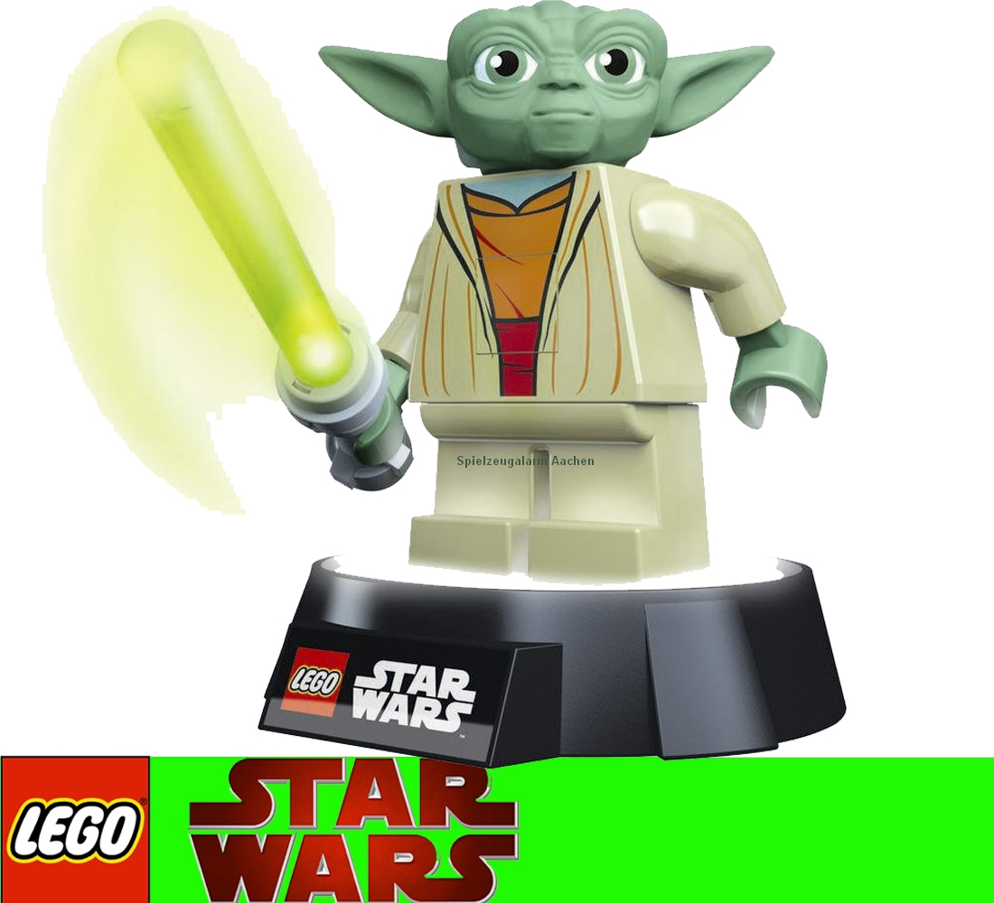 lego star wars yoda led nachtlicht nachttischlampe 2stufig usb oder batterie ebay. Black Bedroom Furniture Sets. Home Design Ideas
