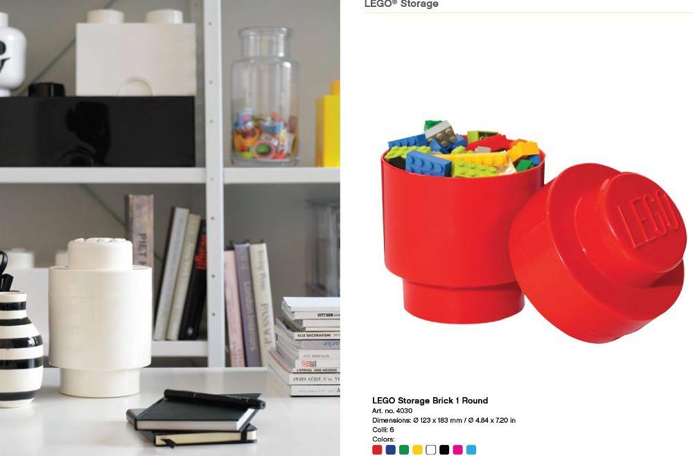 lego storage brick 1 black round storage box 1 knob. Black Bedroom Furniture Sets. Home Design Ideas