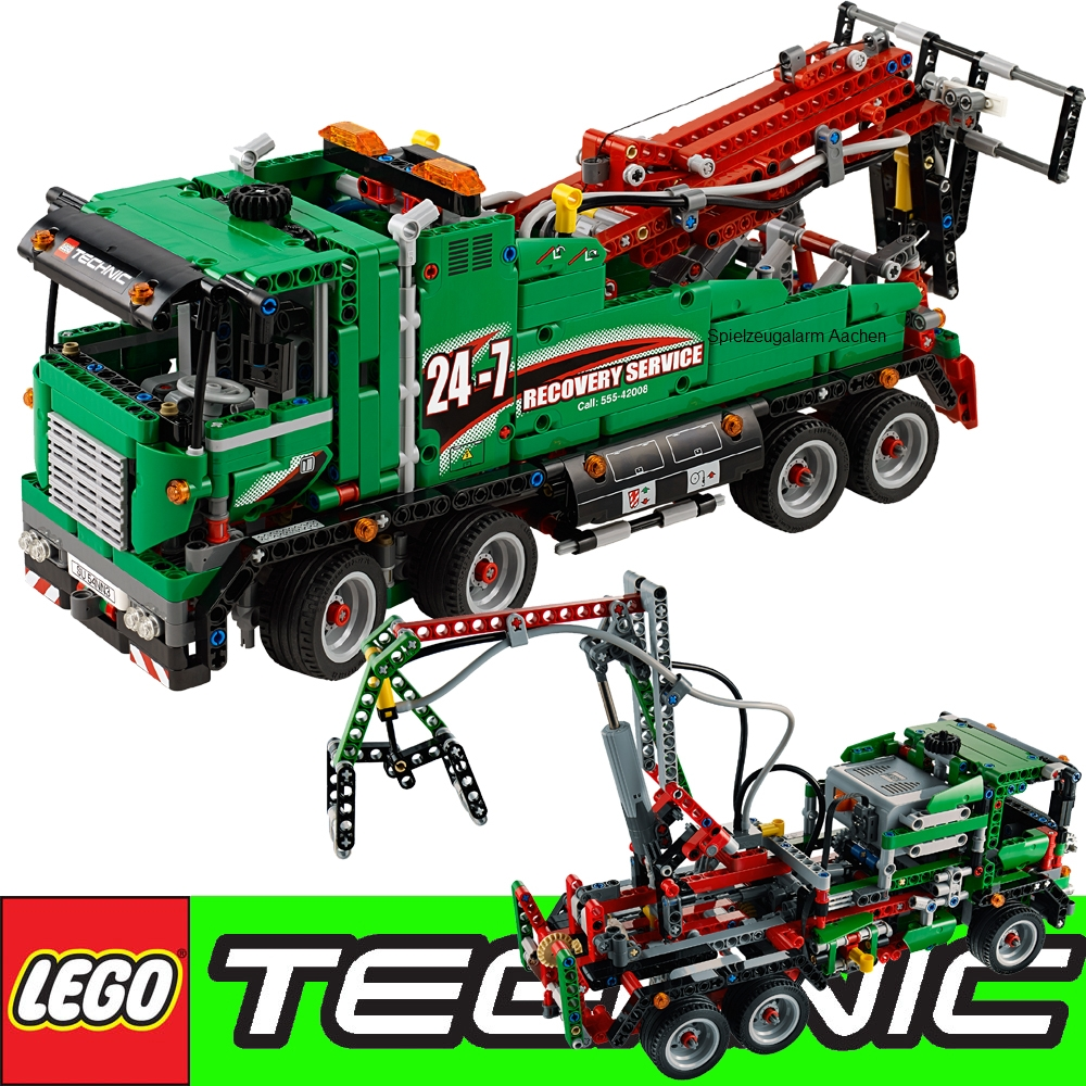 lego technic 2in1 42008 service truck 2in1 or crane ebay. Black Bedroom Furniture Sets. Home Design Ideas