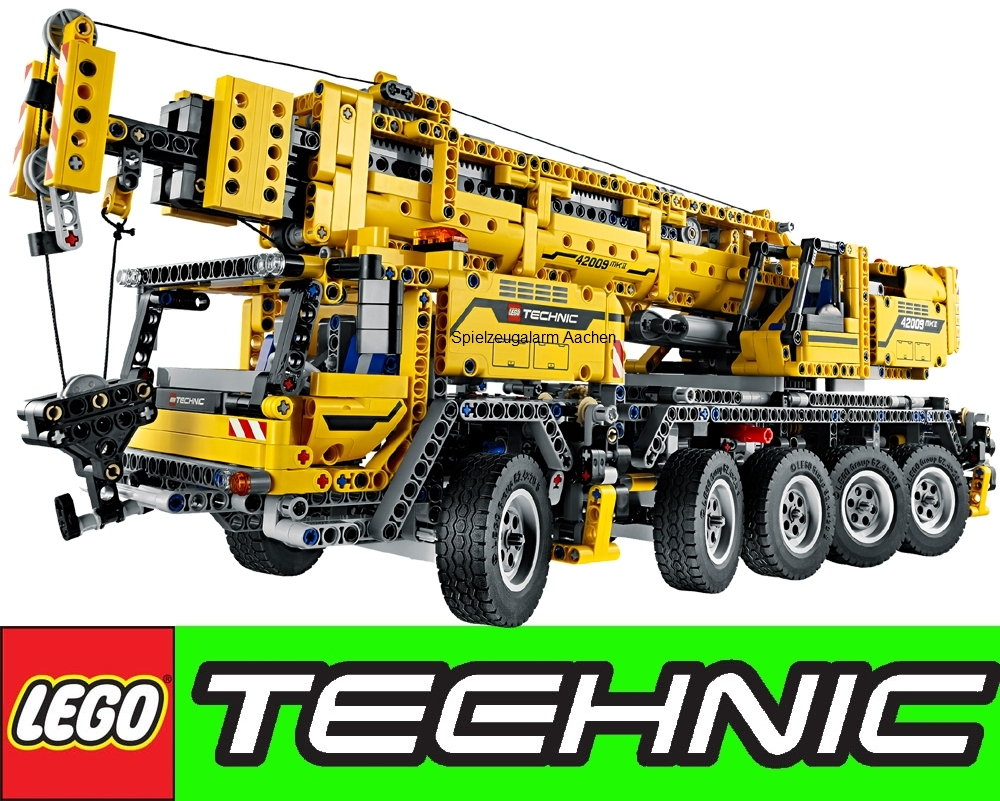 lego technic 42009 mobiler schwerlastkran gratis duracell mobile crane mk ii ebay. Black Bedroom Furniture Sets. Home Design Ideas
