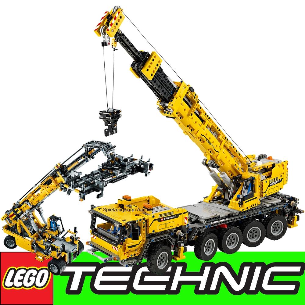 lego technic 42009 mobile heavy duty crane mobile crane mk. Black Bedroom Furniture Sets. Home Design Ideas