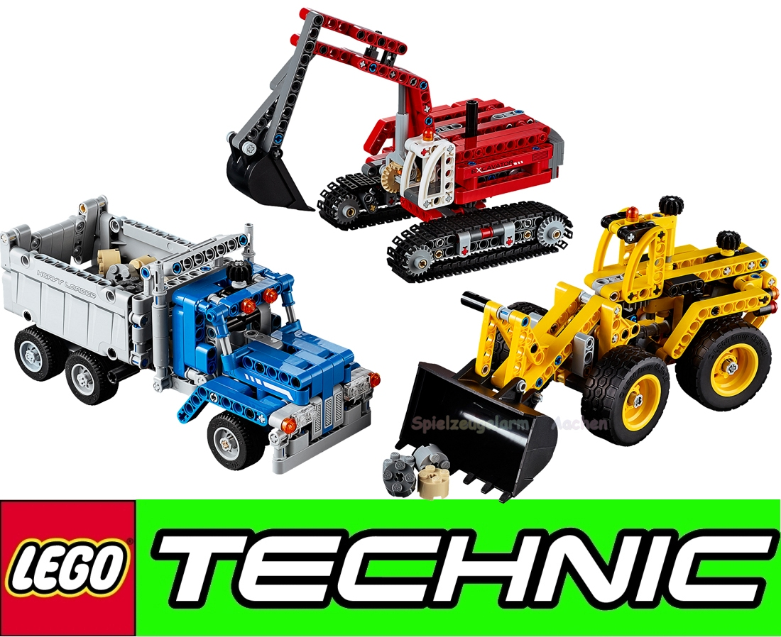 lego technic 42023 bagger kipper your modell by. Black Bedroom Furniture Sets. Home Design Ideas