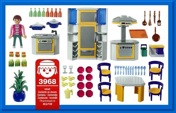 Schön Playmobil 3968 Einbauküche
