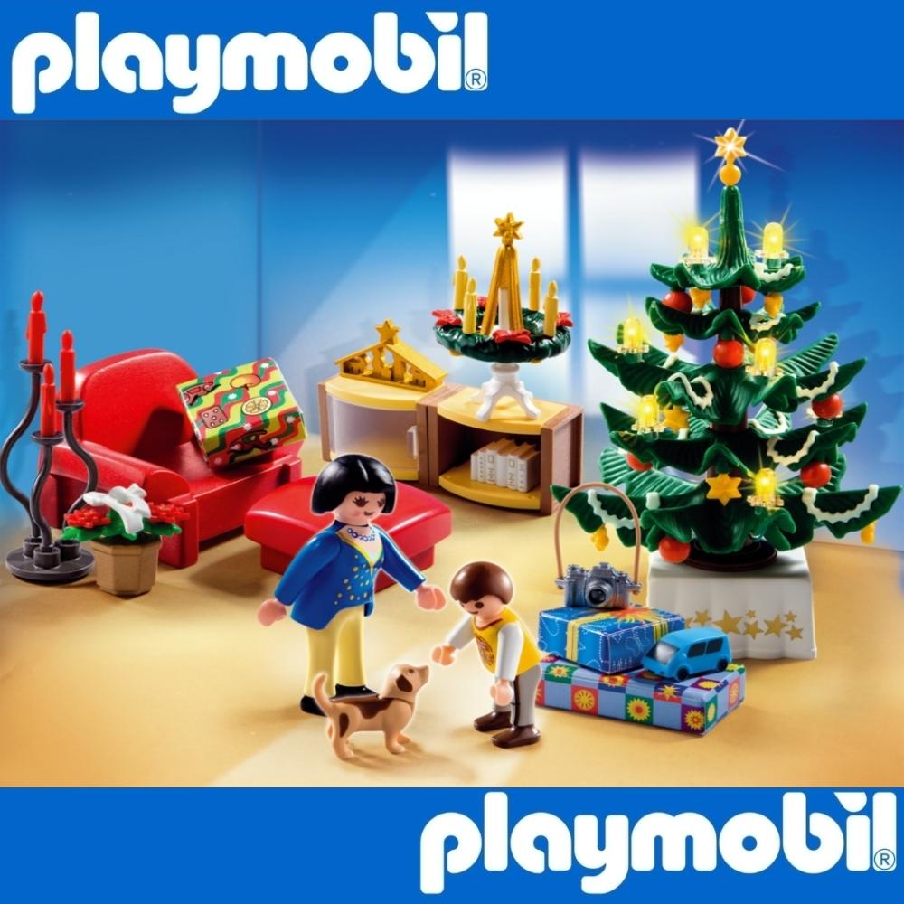 playmobil 4892 weihnachtszimmer christmas room tannenbaum sessel geschenk 1xac ebay. Black Bedroom Furniture Sets. Home Design Ideas
