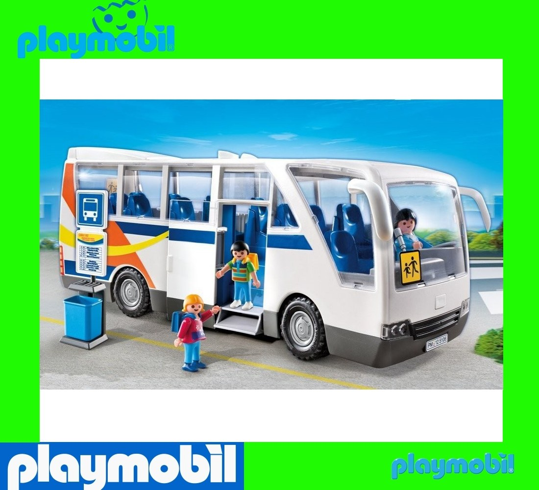 playmobil school bus the image kid has it. Black Bedroom Furniture Sets. Home Design Ideas