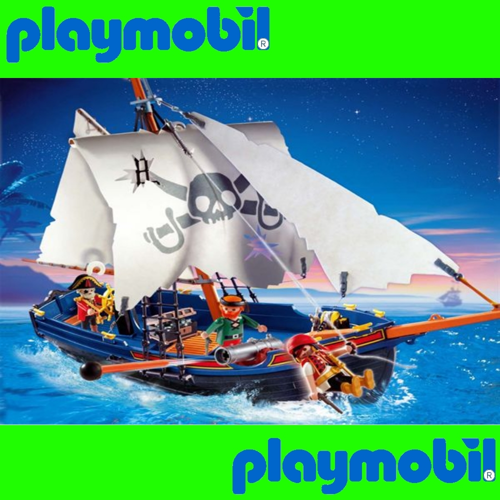 playmobil 5810 piratenschiff korsarensegler pirate binsb. Black Bedroom Furniture Sets. Home Design Ideas