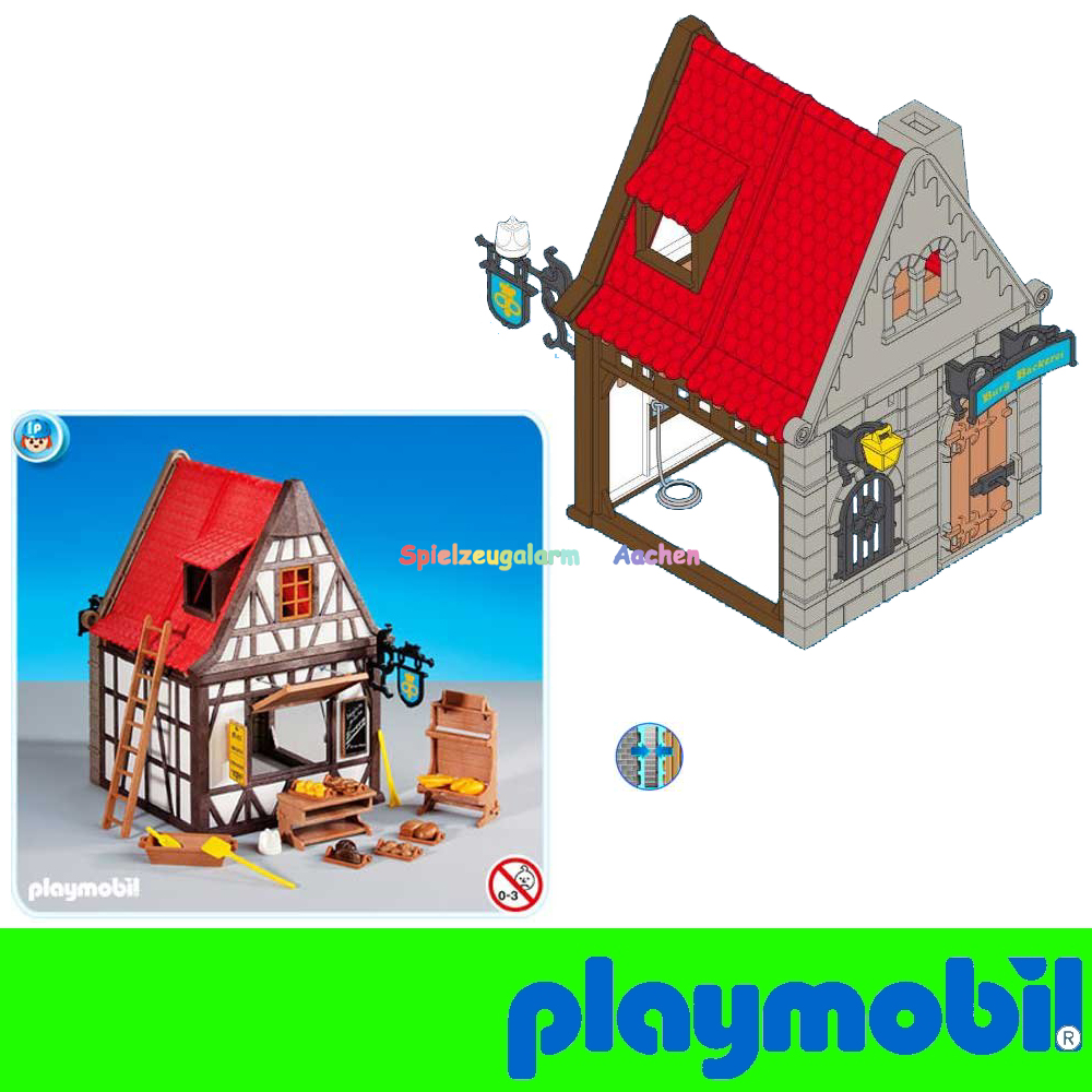 Playmobil 6219 boulangerie colombages moyen bakery boulan for Fachwerkhaus definition