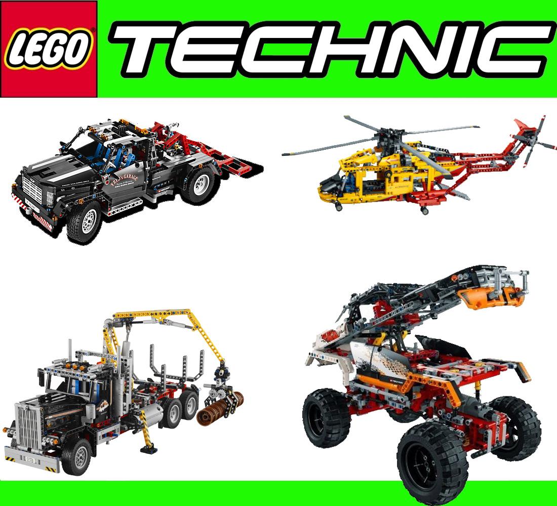 neu lego 4in1 technic xxl pack 9395 9396 9397 9398. Black Bedroom Furniture Sets. Home Design Ideas