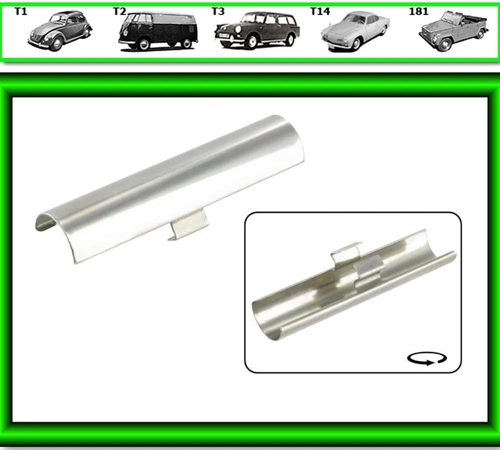 VW Käfer Chrom Keder Zierleisten Verbindungsstück Klip Clip # 0319 Scheibengummi